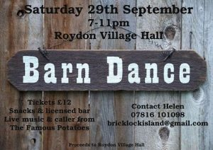 Barn Dance Poster A4 copy